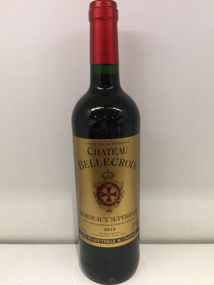 Chateau Bellecroix - Bordeaux Superieur - 2015