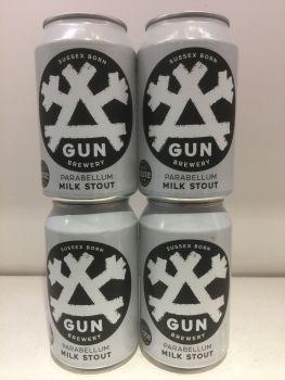 """Gun Brewery """"Parabellum"""" Milk Stout"""