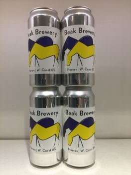 Horses West Coast Rye IPA - Beak Brewery