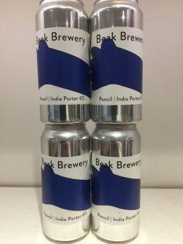 Pencil India Porter - Beak Brewery