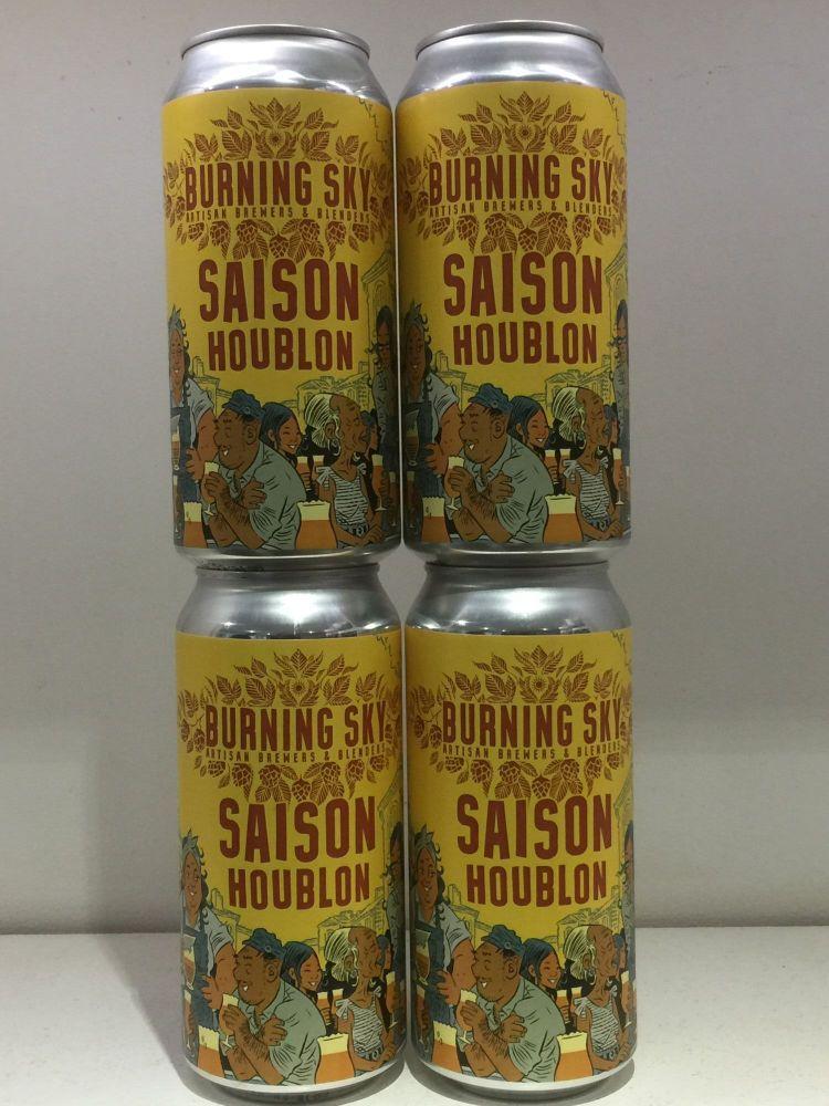 Saison Houblon - Burning Sky
