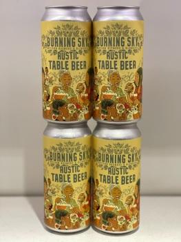 Rustic Table Beer - Burning Sky