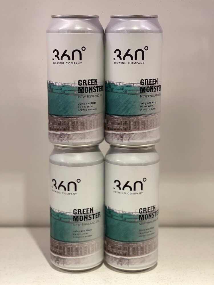 Green Monster NEIPA - 360 Degree Brewing Company