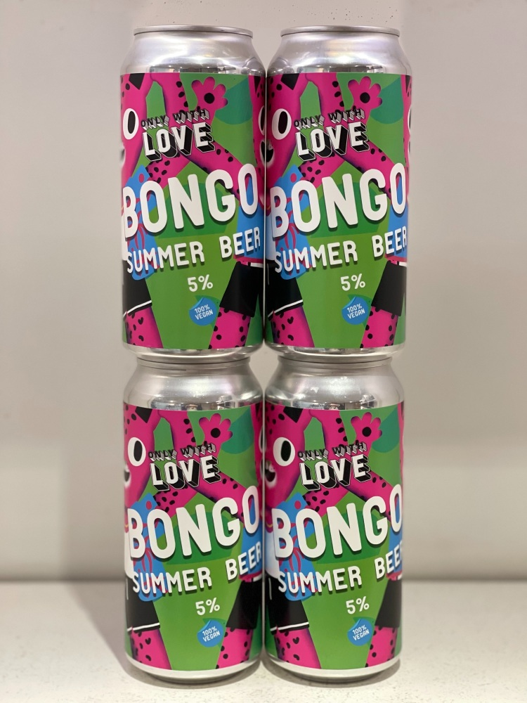 Bongo - Only with Love Brewing