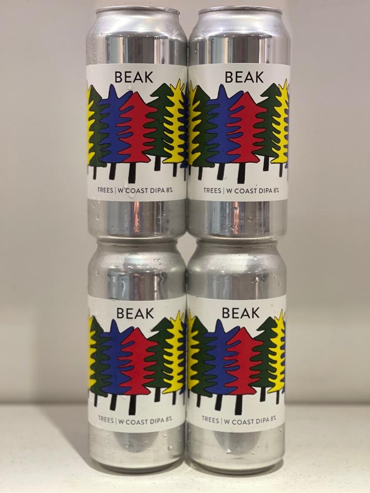 Trees West Coast DIPA - Beak Brewery