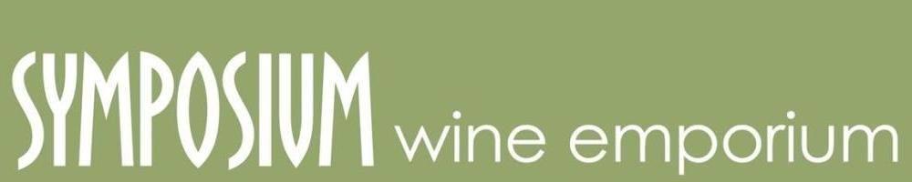 Symposium Wine Emporium, site logo.