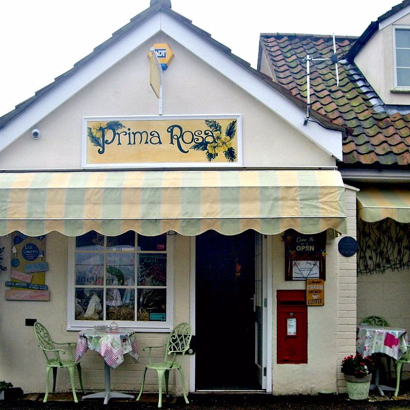 Prima Rosa Tea Rooms & Craft Shop at Salhouse, Norwich, Norfolk