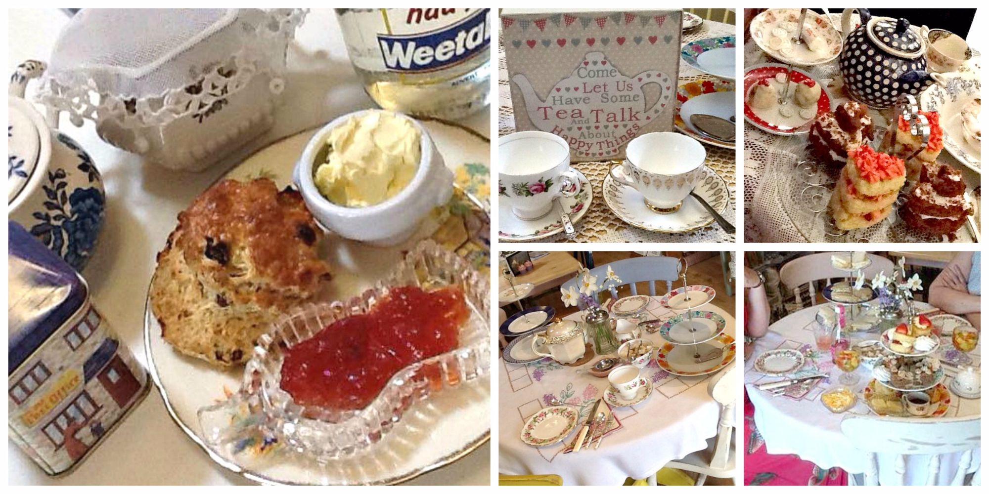 Afternoon Tea & Cream Teas at Prima Rosa in Salhouse in Norfolk