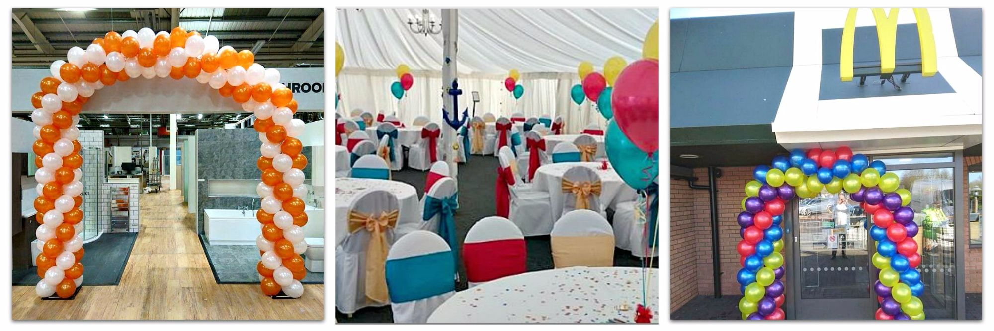 Balloons available for Corporate Events in Norwich & Norfolk