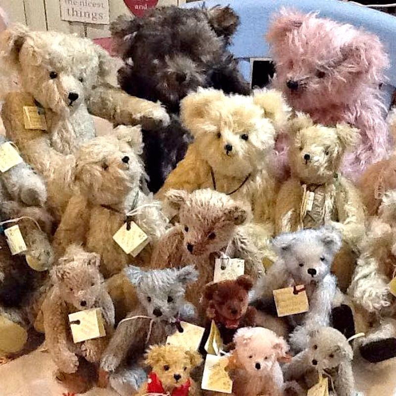 Primrose Cottage Bears at Prima Rosa in Salhouse, Norwich, Norfolk