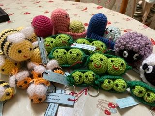 Ever-so-Crafty...wonderful selection of crocheted creations