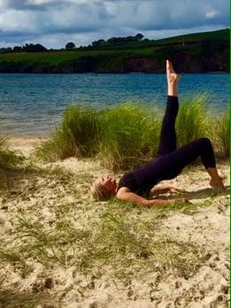Pilates classes truro cornwall pilates lessons one to one tuition with Louise Taskis fun frendly classes