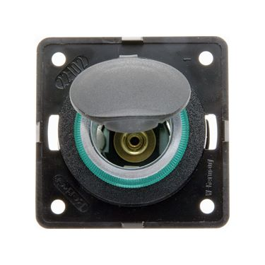 Berker vehicle power socket 12V 20A max, anthracite