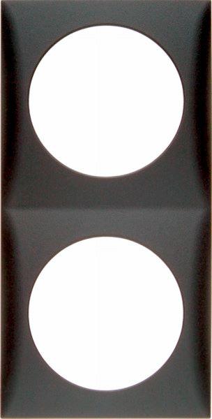 Berker Integro Flow, 2 gang frame
