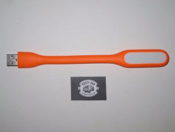 Flexible USB Light. Orange