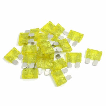 20A Standard Blade Fuse Pack of 10
