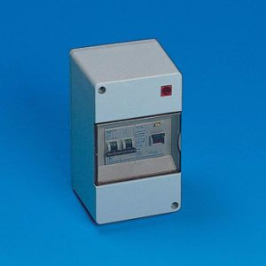 1 Way RCD Mains Consumer Unit