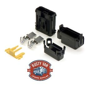 MTA Splash Proof Maxi Blade Inline Fuse Holder, For 16mm Cables