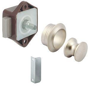 Hafele Brown Mini Push Lock Kit