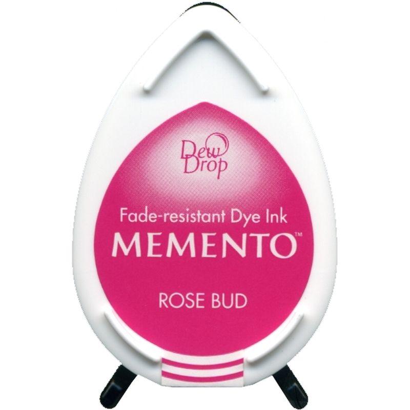 Rose bud Memento dye dew drop Ink Pad
