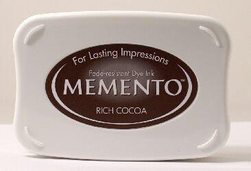 Rich cocoa Memento dye Ink Pad