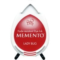 Lady bug Memento dye dew drop Ink Pad