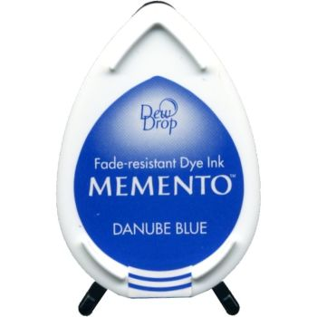 Danube blue Memento dye dew drop Ink Pad