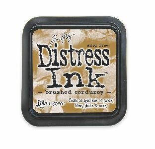 Brushed corduroy Distress Ink Pad