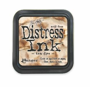 Tea dye Distress Ink Pad