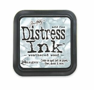 Weathered wood Distress Ink Pad