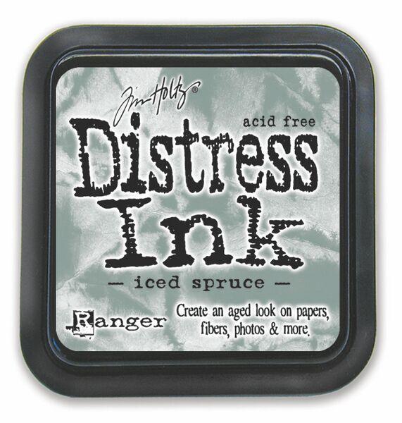 Iced spruce Distress Ink Pad
