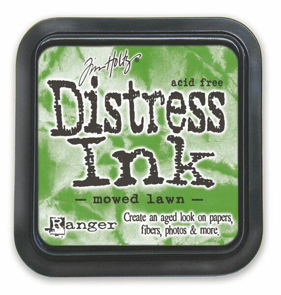 mowed lawn Distress Ink Pad