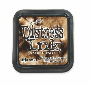 Walnut stain Distress Ink Pad