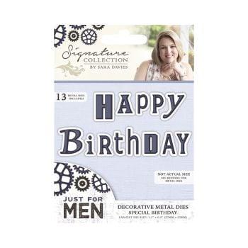 Just For Men Metal Die - Special Birthday