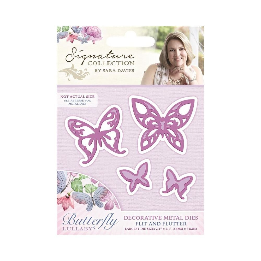 Butterfly Lullaby Die - Flit and Flutter