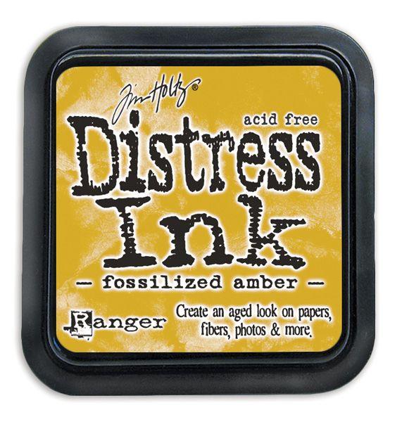 Fossilised Amber Distress Ink Pad