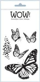 Mariposa - Wow! clear stamps