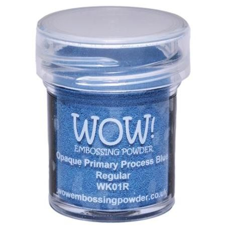 Opaque Primary process blue 15ml pot