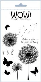 Make a wish - Wow! clear stamps