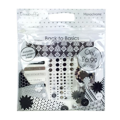 Dovecraft Back To Basics Goody Bag - Monochrome