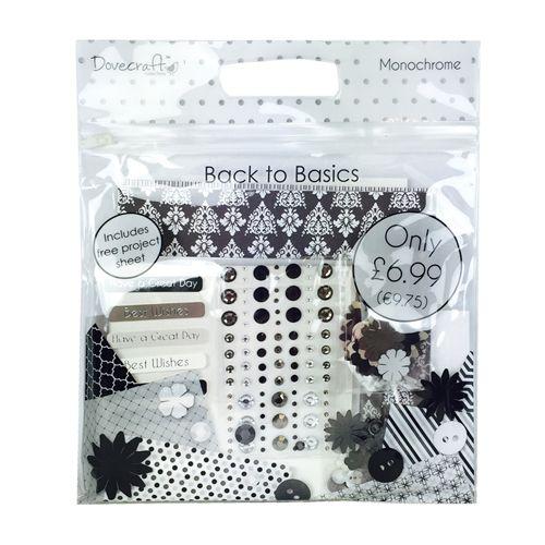 Dovecraft Back To Basics Goody Bag - Monochrome