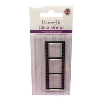 Dovecraft Photopolymer Clear Stamp - Filmstrip