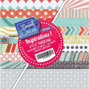 Sweet dixie - Inspirations 1 6x6 Cardstock Pad