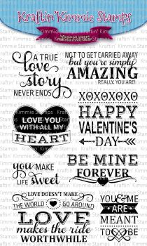 Love story sentiments