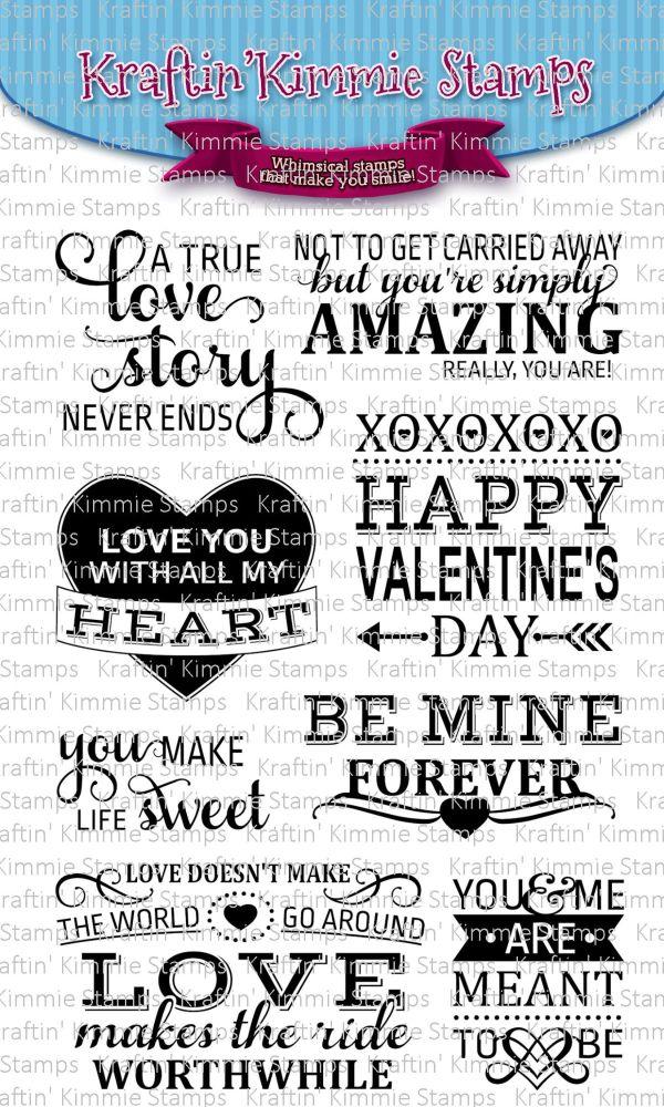 Love story sentiments