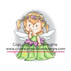 Roberto's Rascals Cling Stamp - Fairy Twila