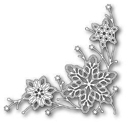 Memory Box - dazzling snowdrift corner