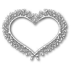 Memory Box - Woodland heart frame