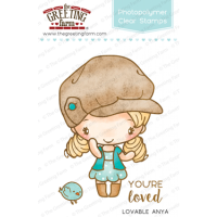 Loveable Anya clear stamp set - The Greeting Farm