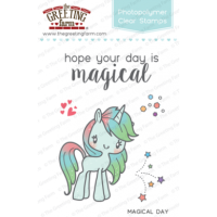 Magical day clear stamp set - The Greeting Farm